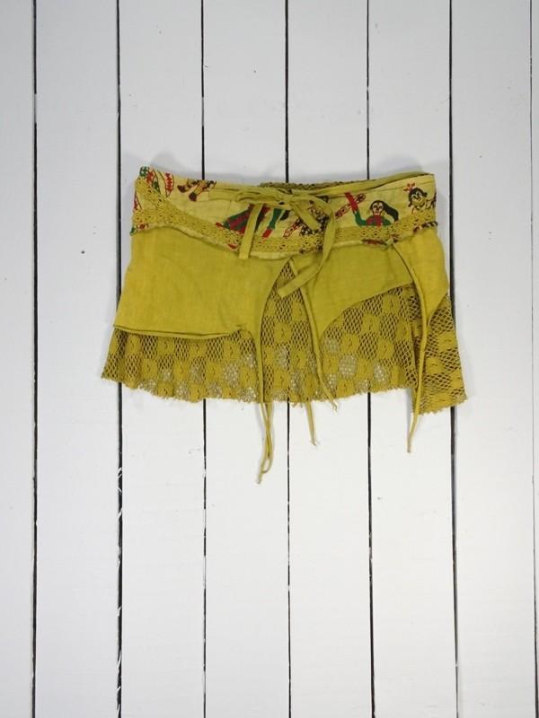 Short wrap festival skirt by Gringo