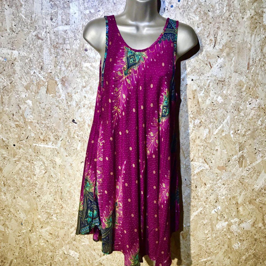 Sleeveless Tunic-Short Dress by Gringo