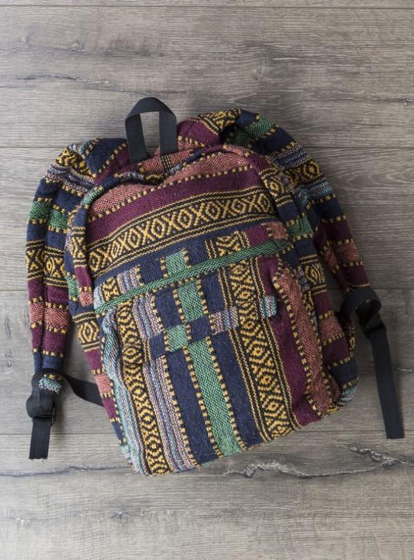Gheri Stripe Backpack by Gringo