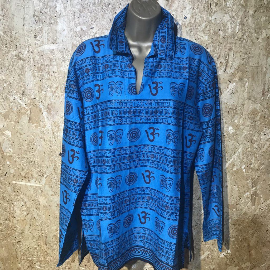 Ohm Print Hippy Shirt by Namaste