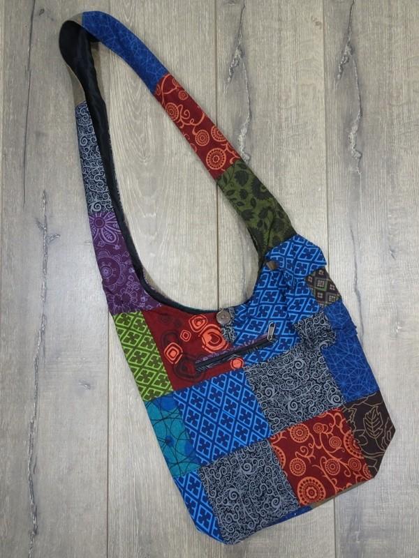 Nepalese Patchwork Shoulder Bag