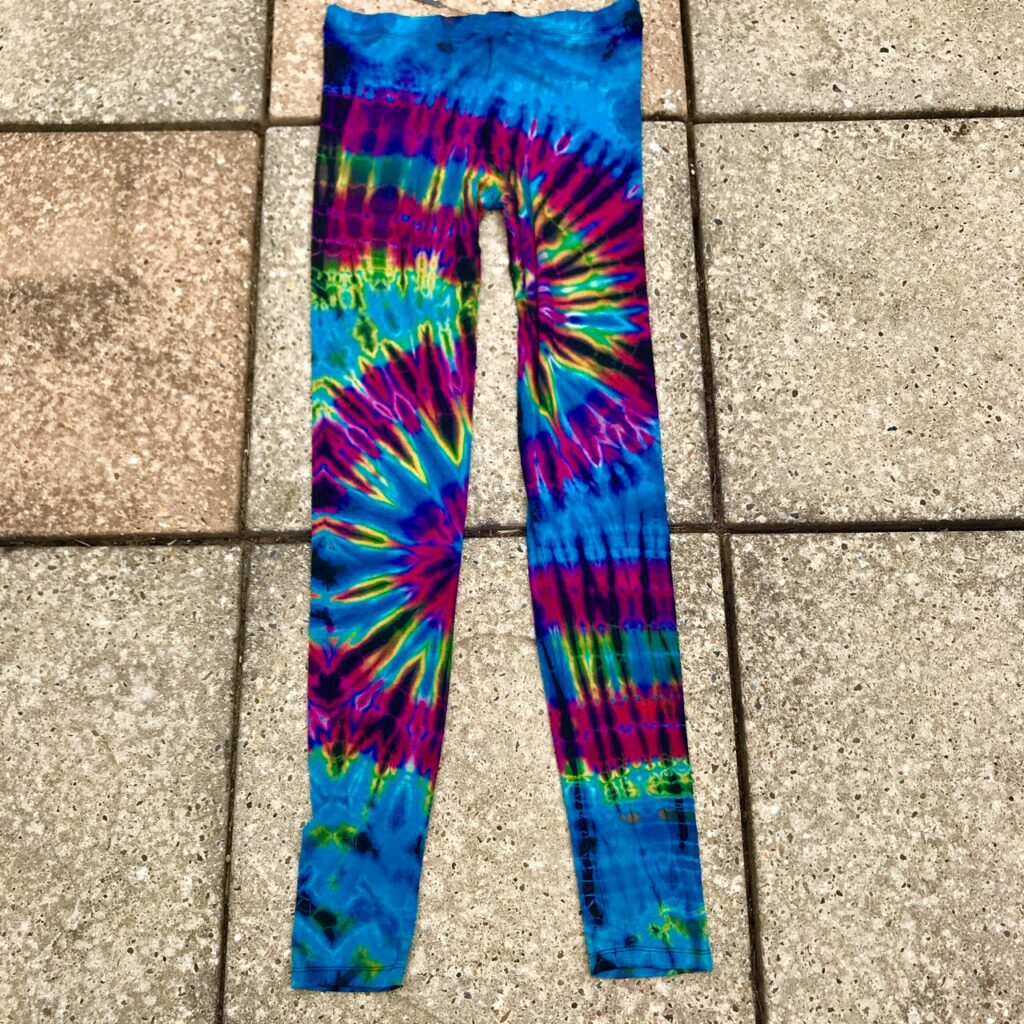 Tie Dye Viscose Leggings by Gringo