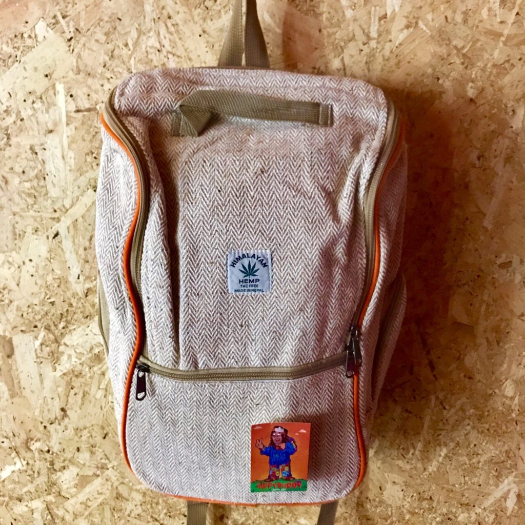 Hemp Laptop Bag-Backpack