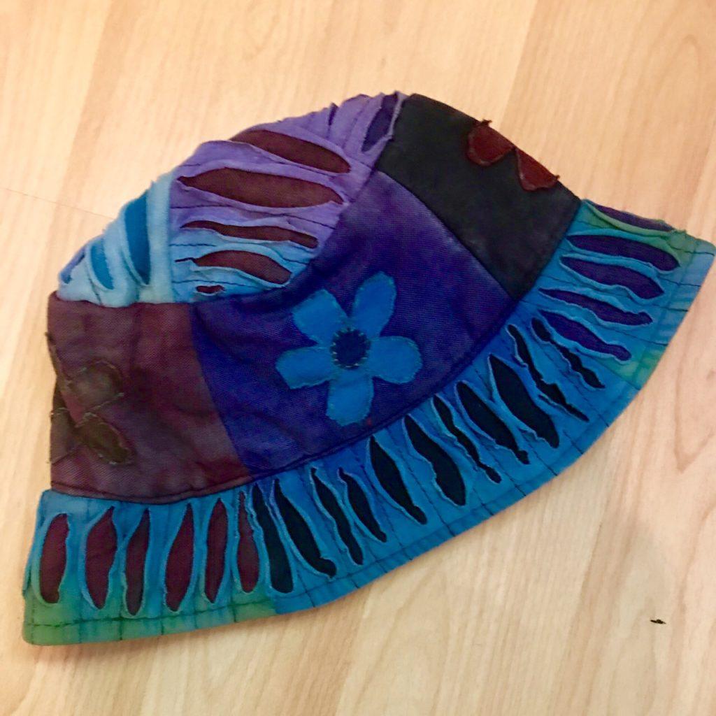Nepalese Patchwork Festival Bucket Hat