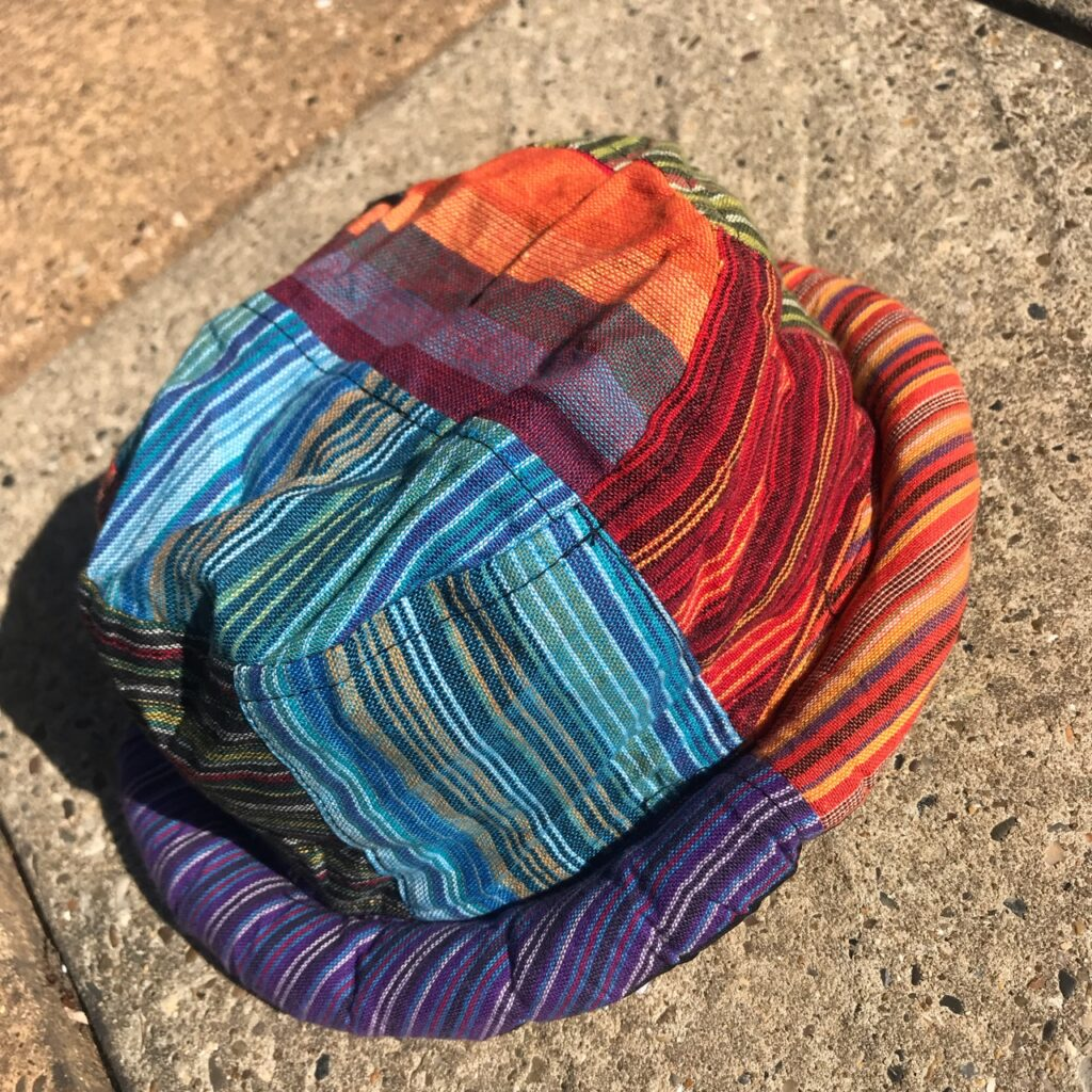 Nepalese Patchwork Festive  Hat