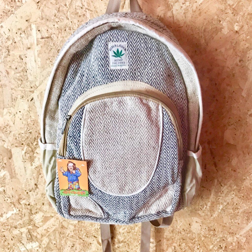 Hemp Patchwork Backpack by Little Kathmandu