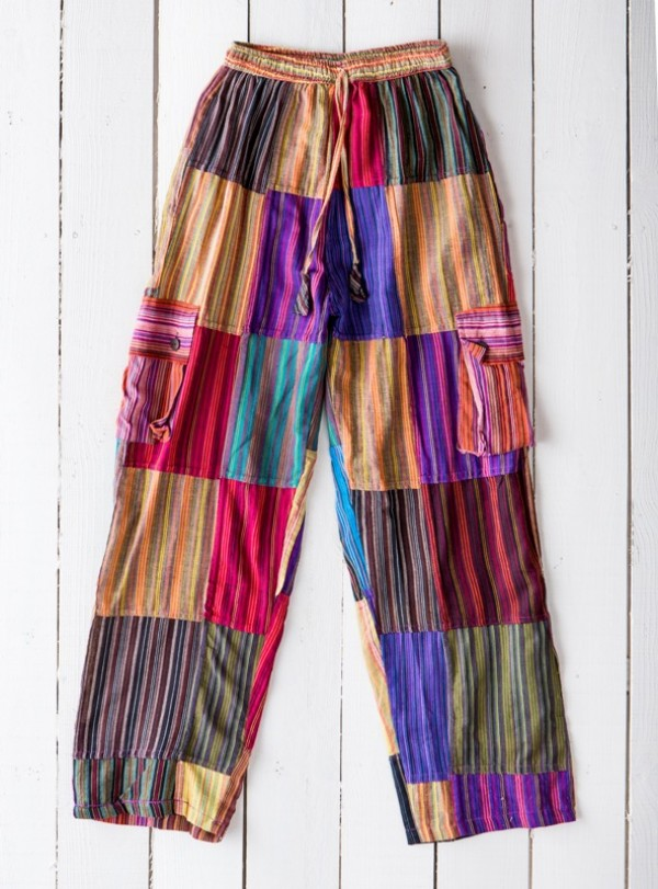 Nepalese Patchwork Pants by Gringo