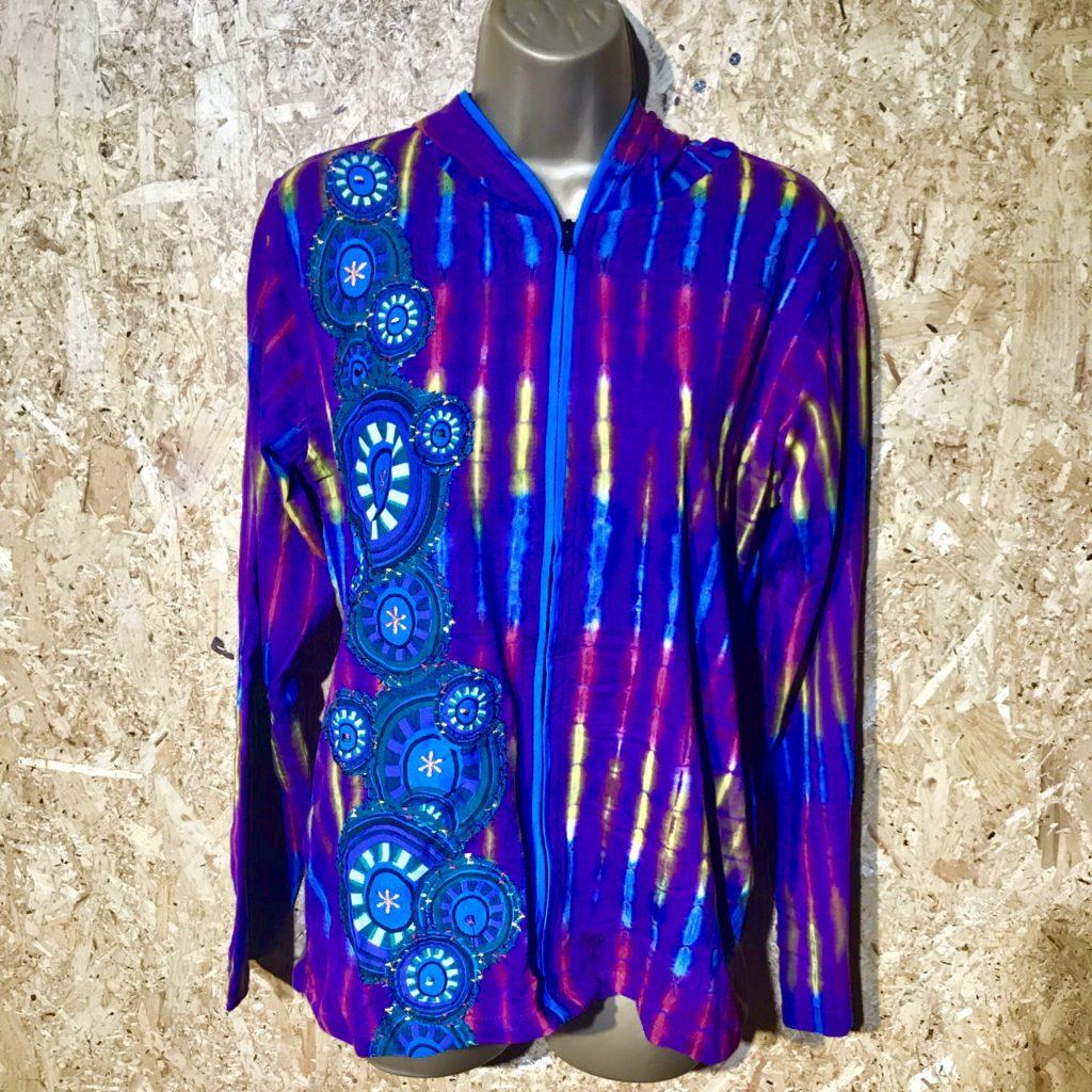 Tie Dye Hooded Jacket by Gringo