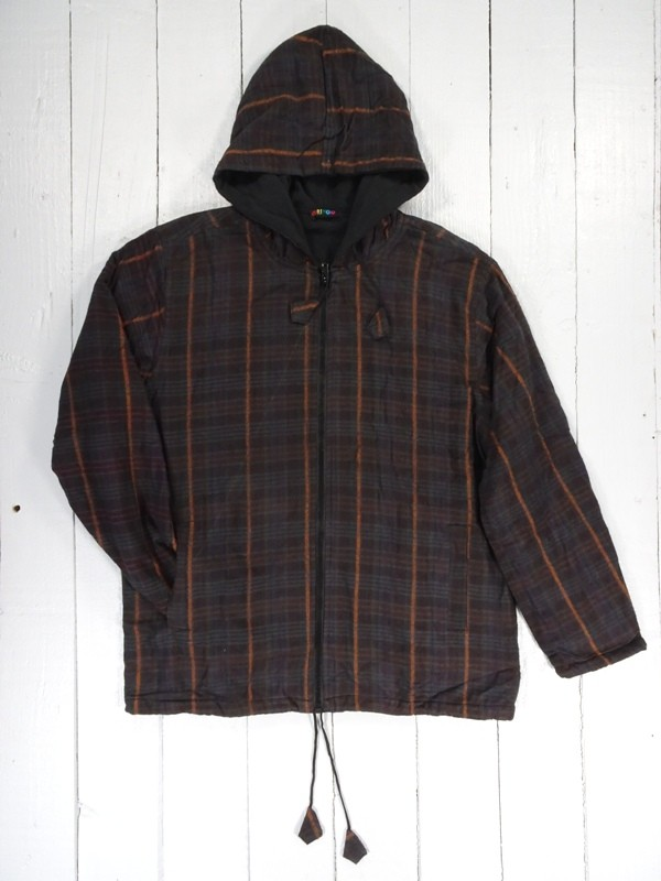 Fleece lined Brushed Cotton Jacket by Gringo