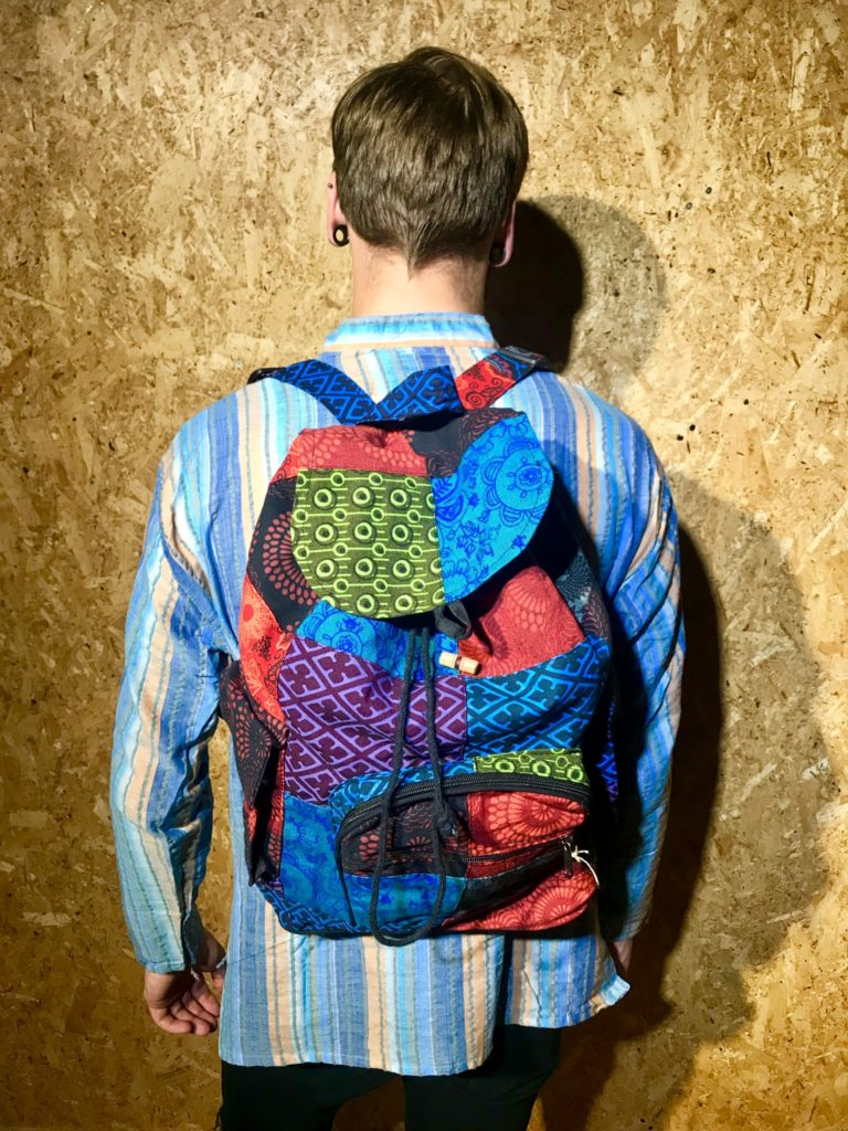 Patchwork Backpack 49x40cms by Gringo