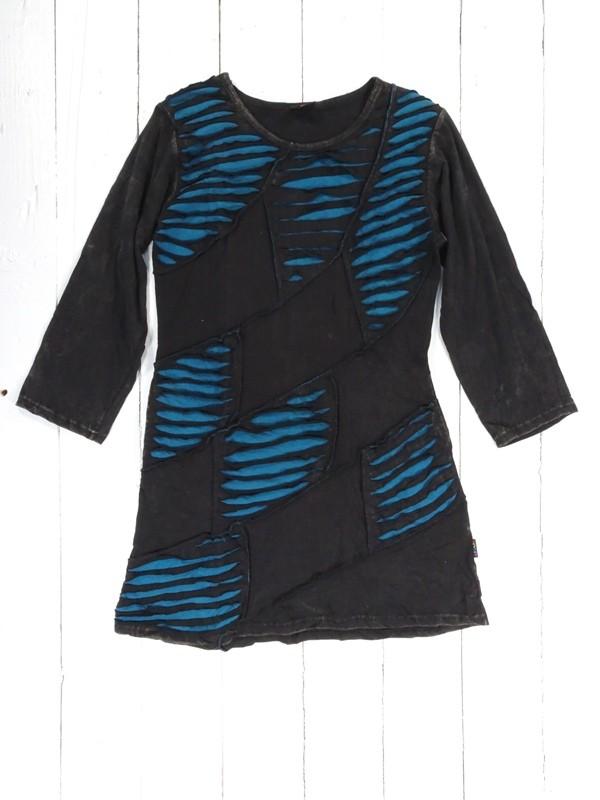 Cotton Slashed Detail dress by Gringo