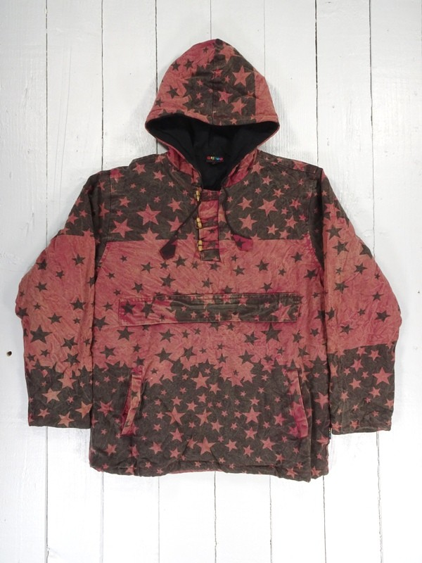 Fleece Lined Kangaroo Pocket Hooded Jacket by Gringo