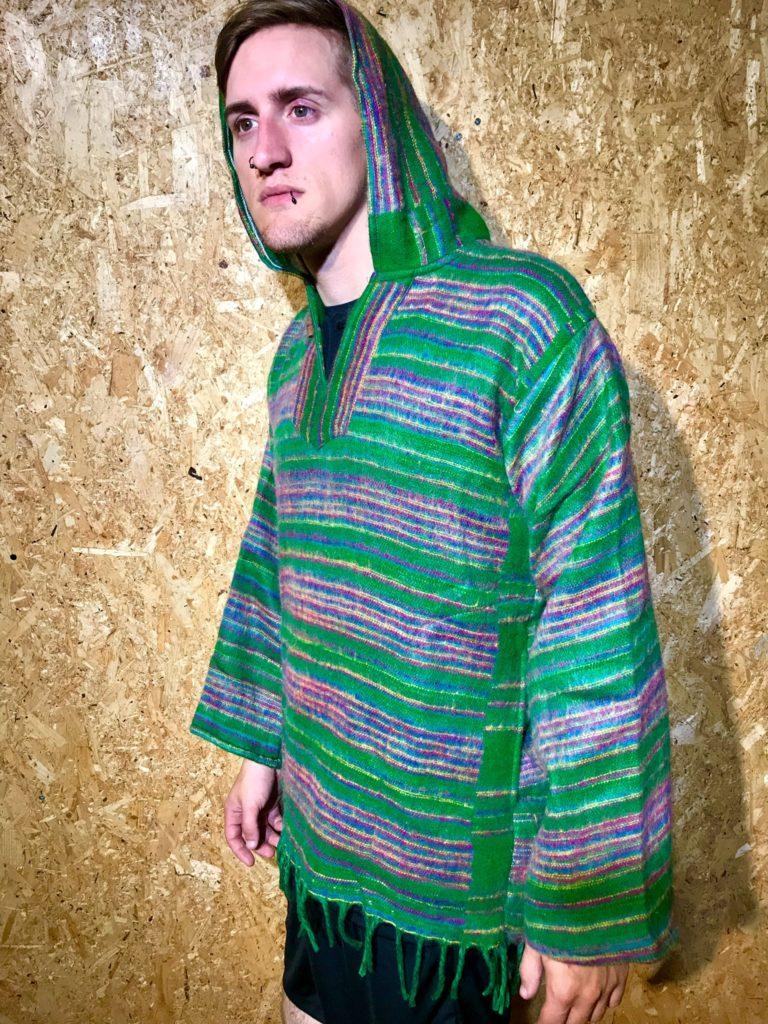 Cashmelon Stripe Hooded Top by Hippy Buddy