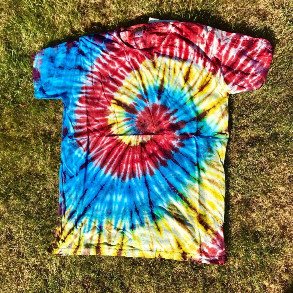 Tie Dye Rainbow Swirl Tee
