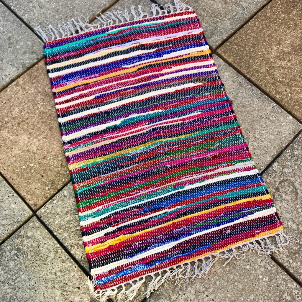 Small Rag Rug 60 x 90cms by Namaste