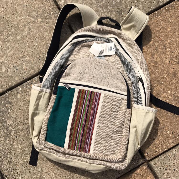 Hemp Backpack by Namaste
