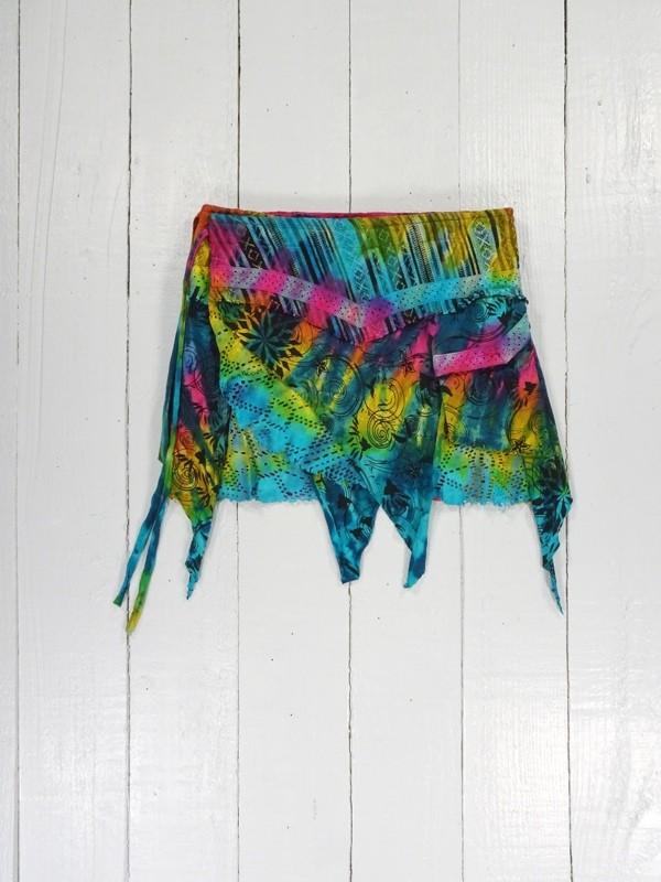 TIE Dye short Skirt