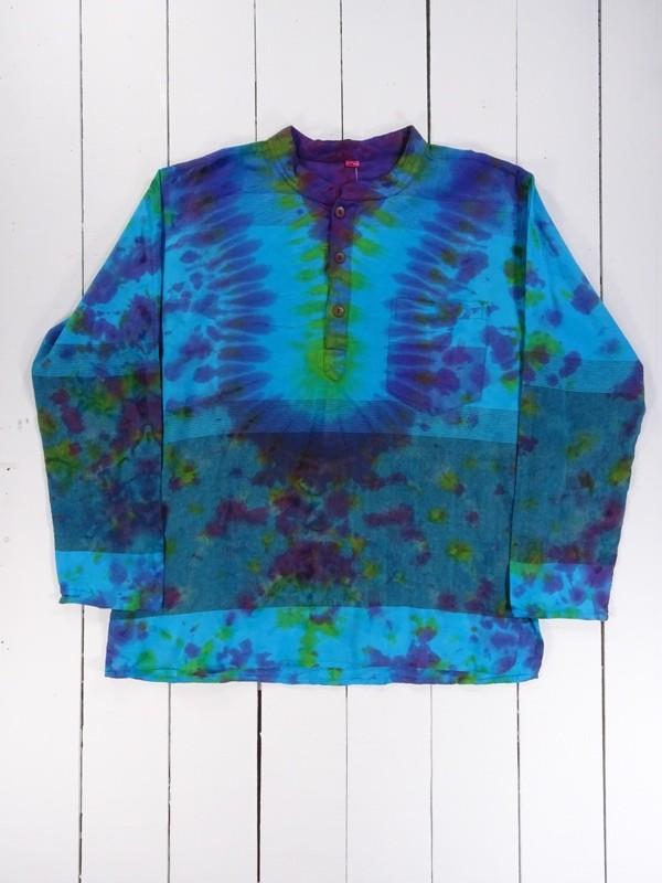 Tie Dye Grandad Shirt