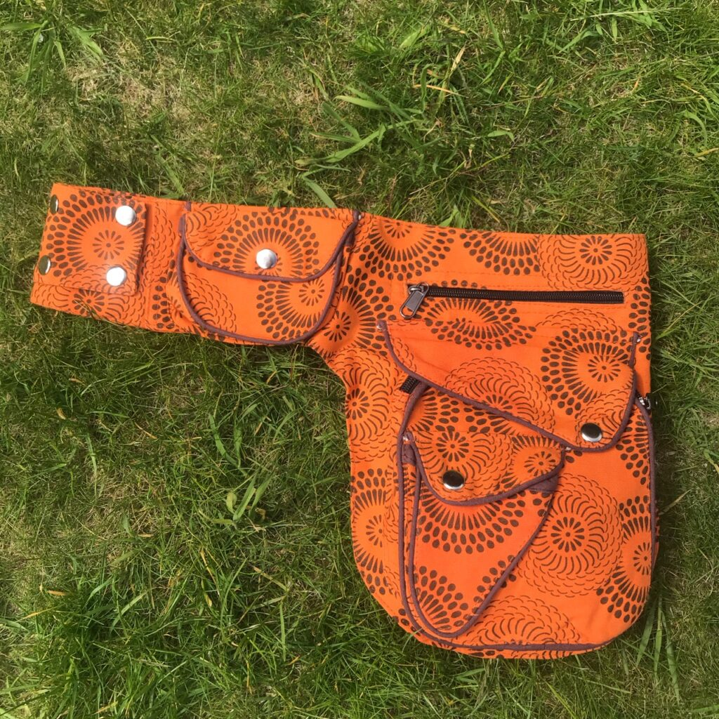 Nepalese Belt Pocket Bag