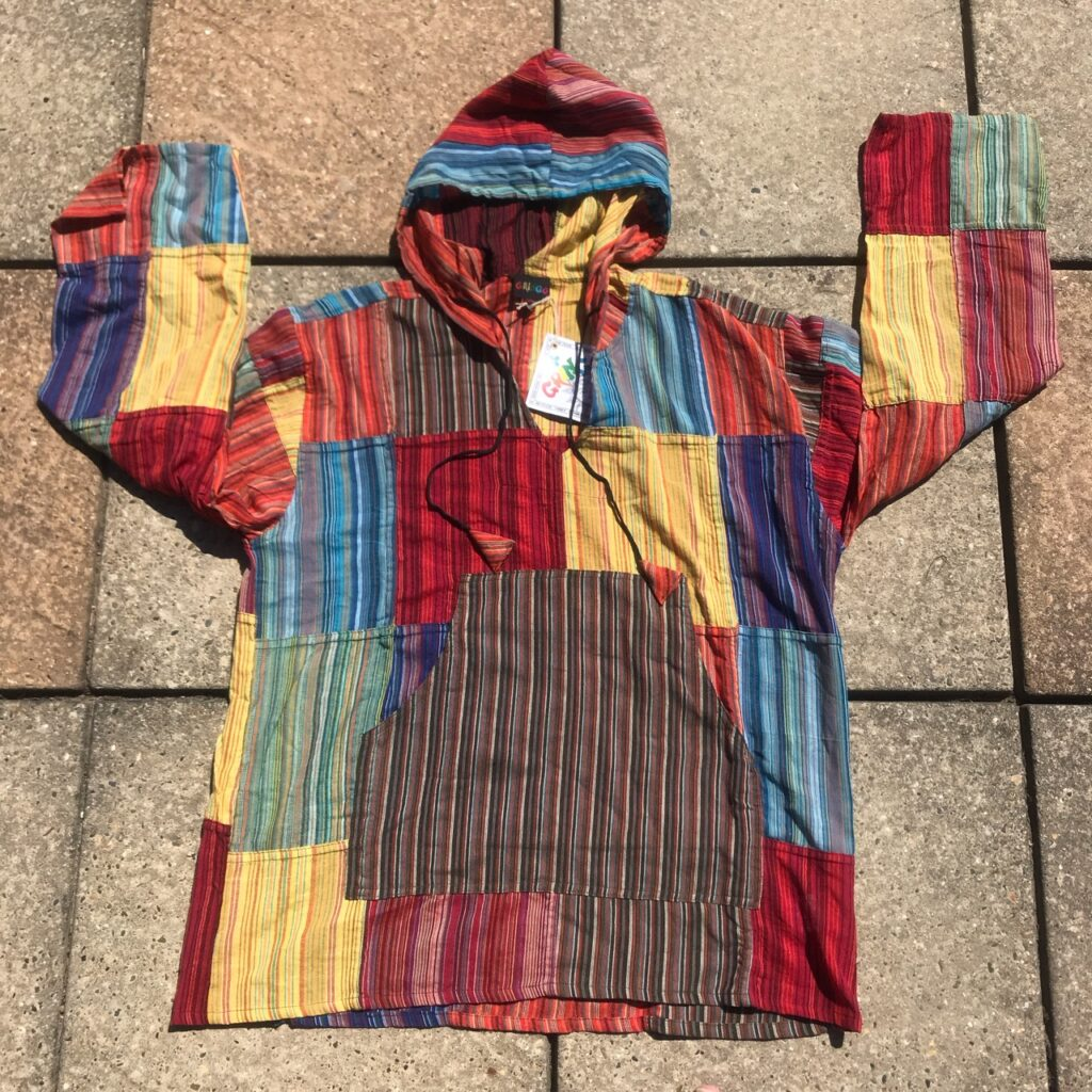 Nepalese patchwork Hoody by Gringo