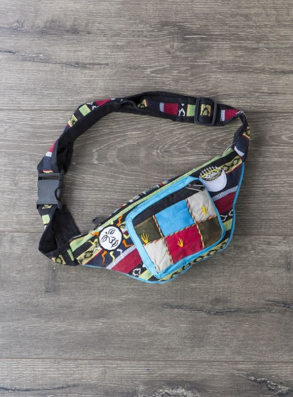 Sun And Moon Patchwork Bum Bag by Gringo