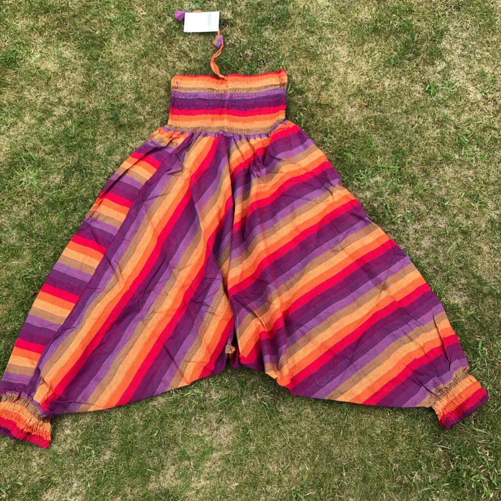 Nepalese Rainbow Stripe Harems