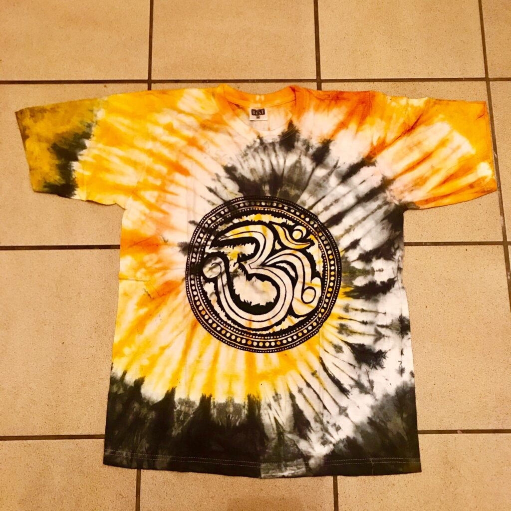 Assorted Screen Print Tie Dye Tee Shirts by Hippy Buddy