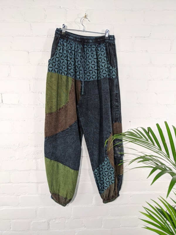 Mens Trousers-Harems