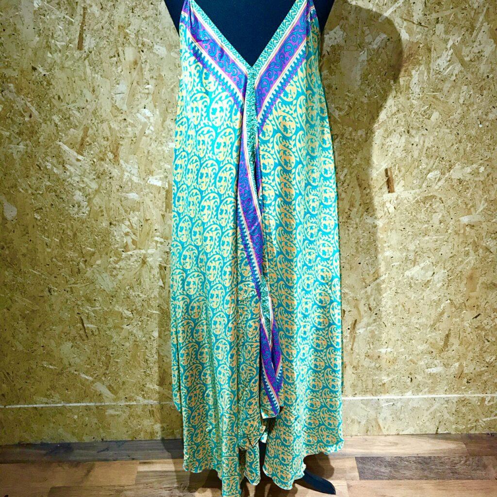 Assorted Sari Hippy Dresses