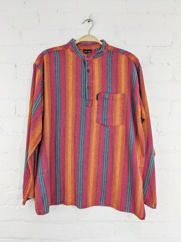 Stripe Woven Shirt