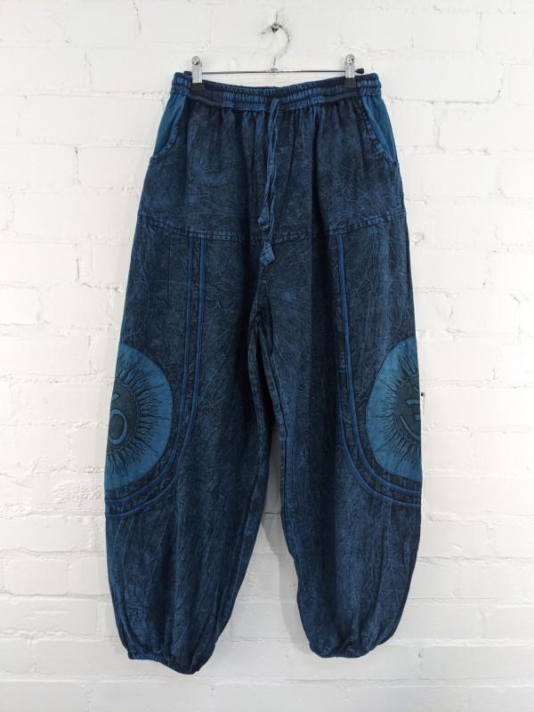 Ohm Detail Aladdin Pants